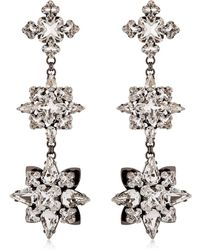 Ellen Conde - Brilliant Jewellery Crystal Earrings - Lyst
