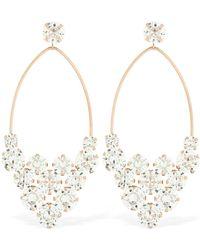 a8f030fd553 Isabel Marant Nile Drop Crystal Earrings in Metallic - Lyst