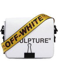 """Off-White c/o Virgil Abloh - """"sculpture"""" Printed Leather Shoulder Bag - Lyst"""