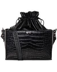 Off-White c/o Virgil Abloh - Croco Printed Leather Soft Boxy Bag - Lyst