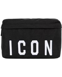 DSquared² - Icon Patches Nylon Canvas Belt Pack - Lyst