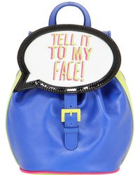 Sophia Webster - Tell It To My Face! Leather Backpack - Lyst