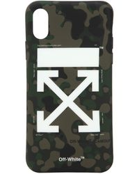 "Off-White c/o Virgil Abloh - Cubierta ""camouflage Arrow"" De Iphone X - Lyst"