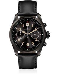 Montblanc - Summit 2 Steel & Leather Smart Watch - Lyst