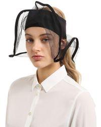 Scha - La Luna Silk Blend Hat W/shapeable Brim - Lyst