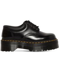 "Dr. Martens - Scarpe ""quad"" In Pelle 40mm - Lyst"