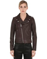 Schott Nyc - Perfect Leather Biker Jacket - Lyst