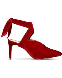 Alexandre Birman - 85mm Sally Lace-up Velvet Sandals - Lyst