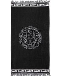 Versace - French Terry Beach Towel - Lyst