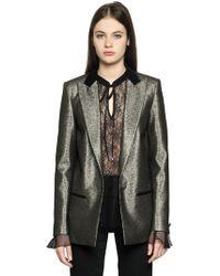 Just Cavalli - Laminated Blazer Jacket - Lyst