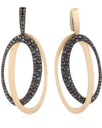 Antonini - Black & White Earrings - Lyst