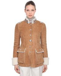 Ermanno Scervino - Shearling Jacket - Lyst