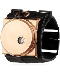 FOB PARIS - Rehab 40 Rose Gold Cuff Watch - Lyst