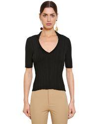 Jacquemus - La Marinheiro Cotton Rib Knit Sweater - Lyst