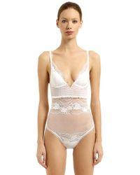 La Perla - Lapis Lace Bodysuit - Lyst