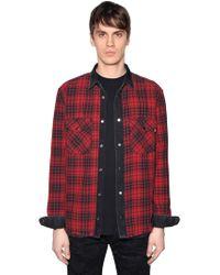 DIESEL - Reversible Shirt - Lyst