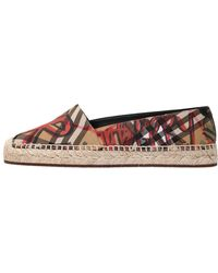 Burberry - 20mm Hoodgeson Canvas Espadrilles - Lyst