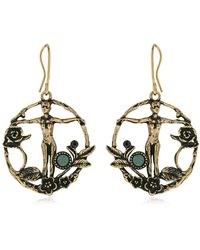 Alcozer & J - Alice & Ellen Earrings - Lyst