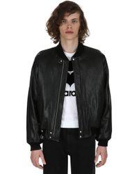 Isabel Marant - Blair Leather Bomber Jacket - Lyst