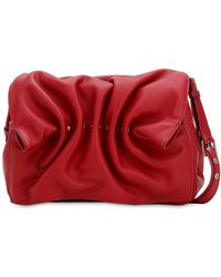 Valentino - Bloomy Leather Shoulder Bag - Lyst