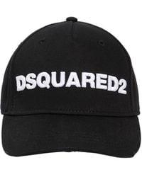 DSquared² Baseballkappe Aus Baumwollcanvas Mit Logopatch