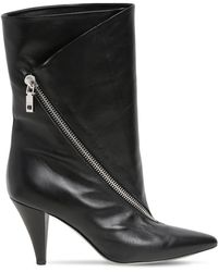 Givenchy - Stivali Bassi In Pelle 80mm - Lyst