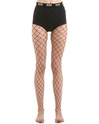 Gcds - Big Fishnet Stockings - Lyst