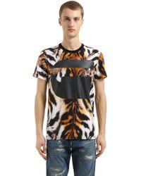 G-Star RAW - Mostom Animalier Print Jersey T-shirt - Lyst