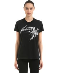 Givenchy - World Tour Tiger Printed Jersey T-shirt - Lyst