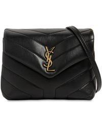 Saint Laurent - Toy Loulou Monogram Leather Shoulder Bag - Lyst fc48d8b3f92ed