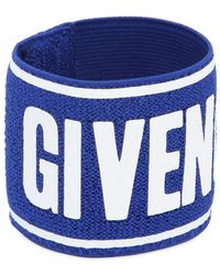 Givenchy - Logo Terrycloth Sport Wristband - Lyst