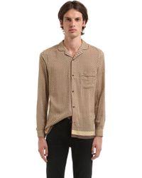 The Kooples - Fluid Viscose Pajama Shirt - Lyst