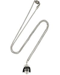 Cantini Mc Firenze - Crown & Opal Silver Necklace - Lyst