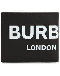 Burberry - Portafoglio In Pelle - Lyst