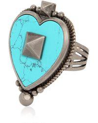 Valentino   Santeria Heart Ring   Lyst