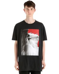 Damir Doma - Oversize Printed Cotton Jersey T-shirt - Lyst