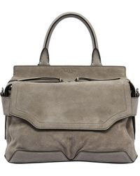 Rag & Bone - Medium Pilot Suede Top Handle Bag - Lyst