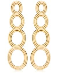 Pamela Love | Cassini Four Circle Drop Earrings | Lyst
