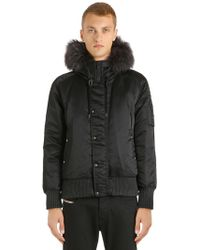 Tatras - Perugia Down Jacket W/ Fur Trim - Lyst