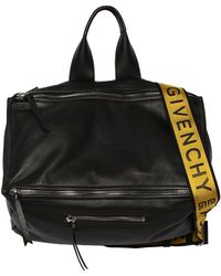Givenchy - Pandora Tumbled Leather Bag - Lyst