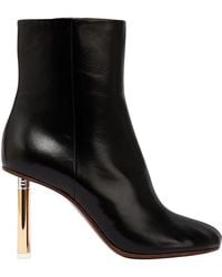 Vetements - 90mm Lighter Leather Ankle Boots - Lyst