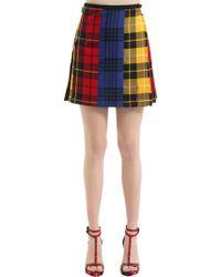 Le Kilt - Mix & Match Wool Plaid Skirt - Lyst