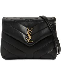 Saint Laurent - Toy Loulou Monogram Leather Bag - Lyst