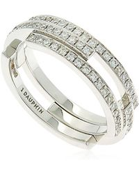 Dauphin - Volume Diamond Ring - Lyst