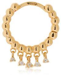 Stone Paris - Talitha 18kt Gold Mono Earring - Lyst