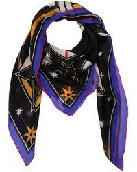 Givenchy - Lightening Printed Silk Chiffon Scarf - Lyst