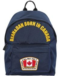 DSquared² - Canada Nylon Canvas Backpack - Lyst