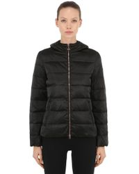 EA7 - Mountain Hooded Down Jacket - Lyst
