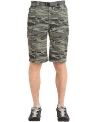 "Columbia - Shorts Cargo ""silver Ridge Camo"" - Lyst"