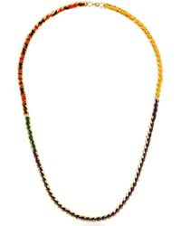 Missoni | Iconic Chain Braided Long Necklace | Lyst